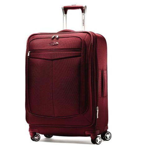 "Samsonite Silhouette 12 25"" Spinner Luggage Red"