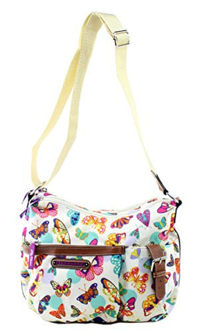 Lily Bloom Kathryn Hobo Shoulder Bag, Butterfly Twister