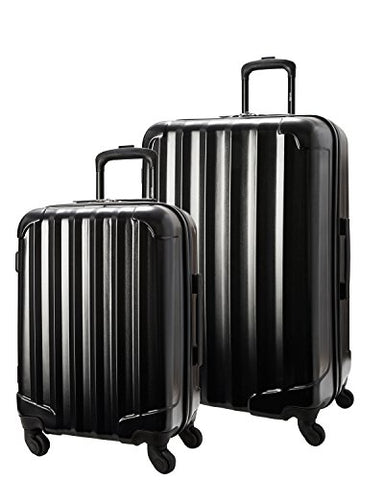 "Genius Pack 2 Piece Aerial Hardside Lightweight Luggage Set 21"" Carry On, 29"" Upright"