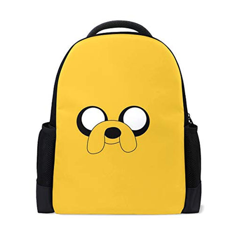 Backpacks Travel Hiking School Laptop Shoulder Backpack, Adventure Time College Heavy Duty Large