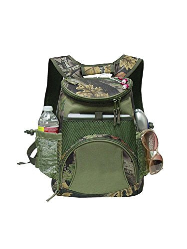 Goodhope Bags G7722 Camo Ipad/Tablet Cooler Backpack, Green