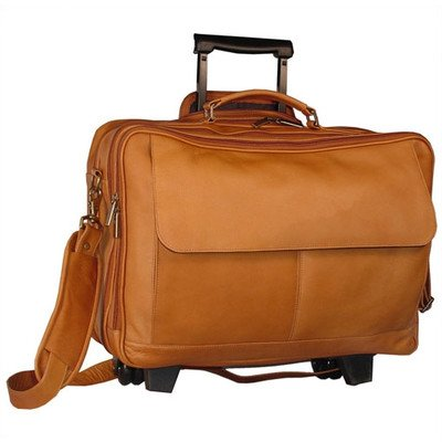 David King & Co. Wheeled Briefcase, Cafe, One Size