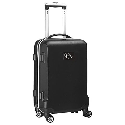 """His"" Carry-On Hardcase Luggage Spinner, Black"