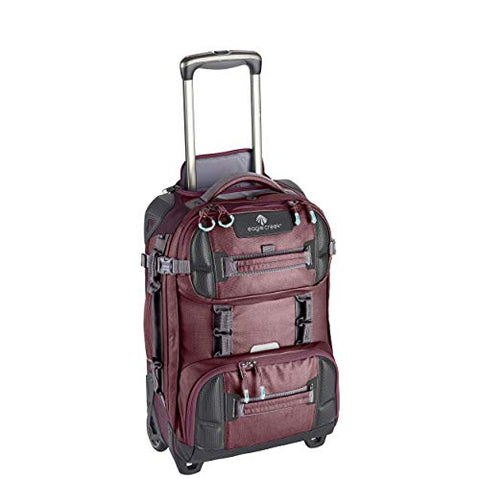 Eagle Creek ORV 2-Wheel International Carry-On Rolling Duffel, Earth Red