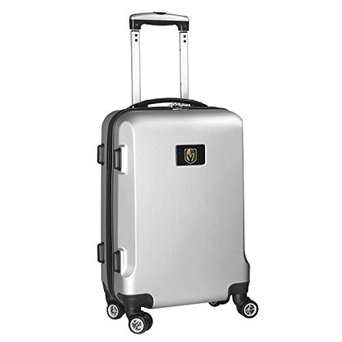Nhl Vegas Golden Knights Carry-On Hardcase Spinner, Silver