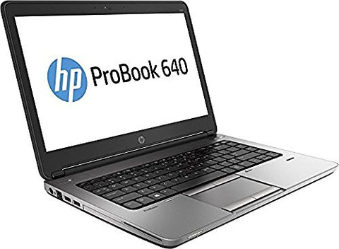 "2018 Hp Probook 640 G1 14"" Hd Anti-Glare Notebook Laptop, Intel Core I5-4200M Up To 3.1Ghz, 8Gb"