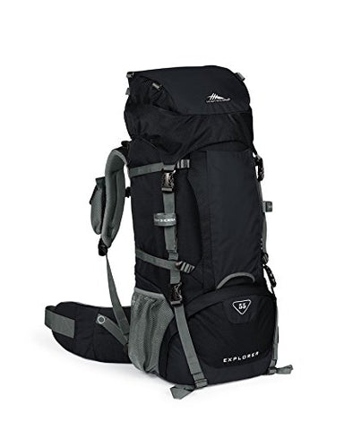 High Sierra Explorer 55L Top Load Internal Frame Backpack Pack, High-Performance Pack for