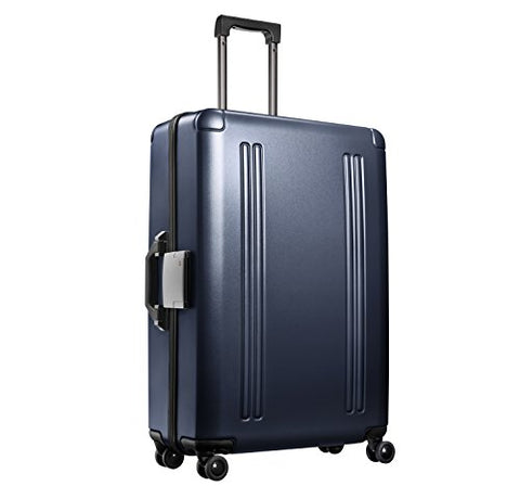"Zero Halliburton Zro - 28"" 4-Wheel Spinner Travel Case, Gun Metal"