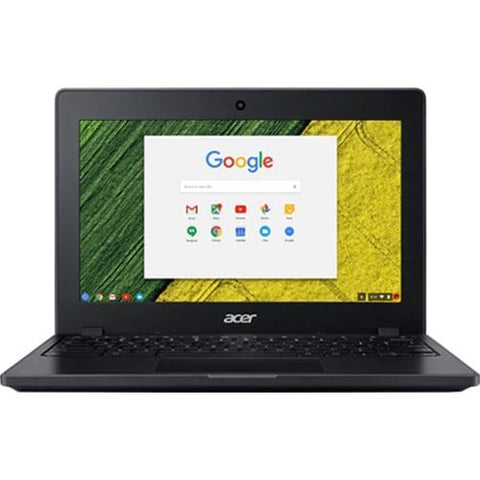 Acer C771T-C1Ws Chromebook With Intel Celeron 3855U, 4Gb 32Gb Emmc