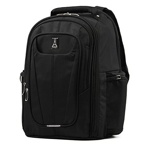 "Travelpro Luggage Maxlite 5 17.5"" Lightweight Under Seat Laptop Backpack, Black One Size"