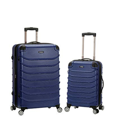 "Rockland Speciale 20"", 28"" 2 Pc. Expandable Abs Spinner Set, Blue"