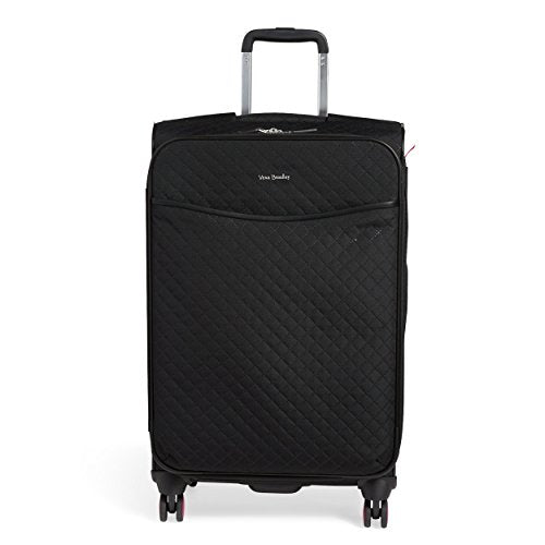 Vera Bradley Iconic Large Spinner Suitcase, Classic Black