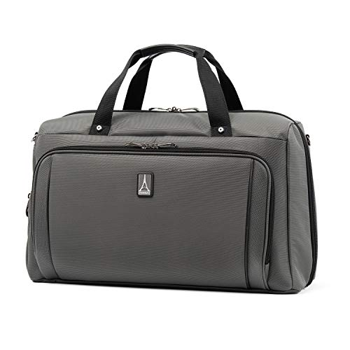 Travelpro Crew Versapack Weekender Carry-on Duffel Bag W/Suiter, Titanium Grey, One Size