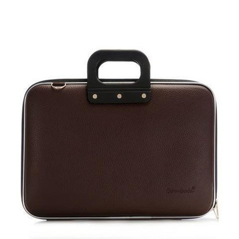 Bombata Medio Briefcase 13-Inch (Brown)