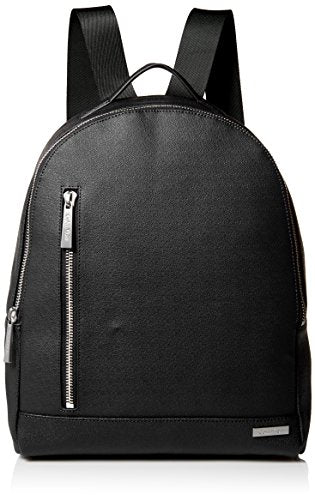 Calvin Klein Men's Saffiano Backpack, Black