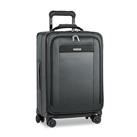"Briggs & Riley Transcend Tall Carry-on Expandable 22"" Spinner, Slate"