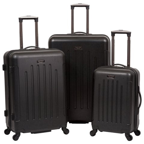 Heritage Travelware 882625 2044; 2544; 29 in. Lincoln Park Black ABS Lightweight 4-Wheel Upright
