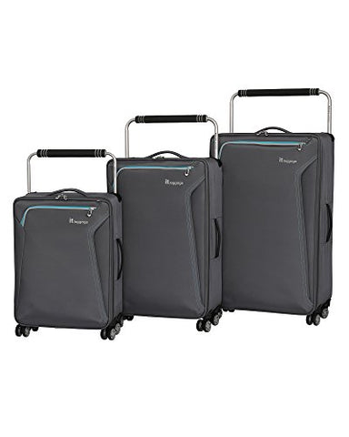 it luggage World's Lightest Accent 8 Wheel 3 Piece Set, Quiet Shade