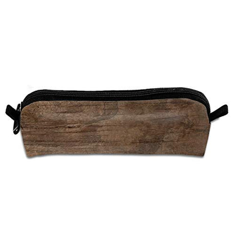 Texture of Bark Wood Use As Natural Pencil Case Bag - Cosmetic Bag Toiletry Makeup Brushes