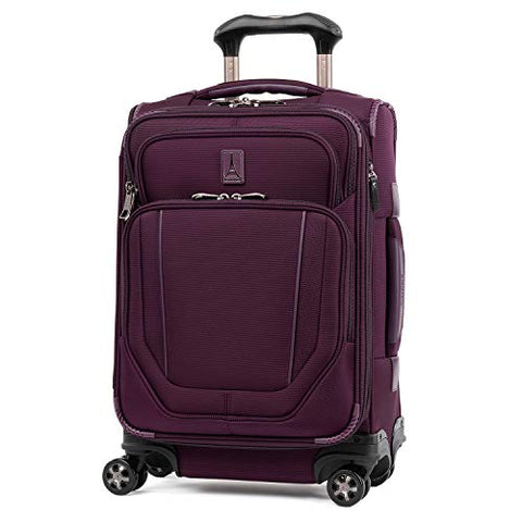 Travelpro Crew Versapack Global Carry-on Exp Spinner, perfect Plum
