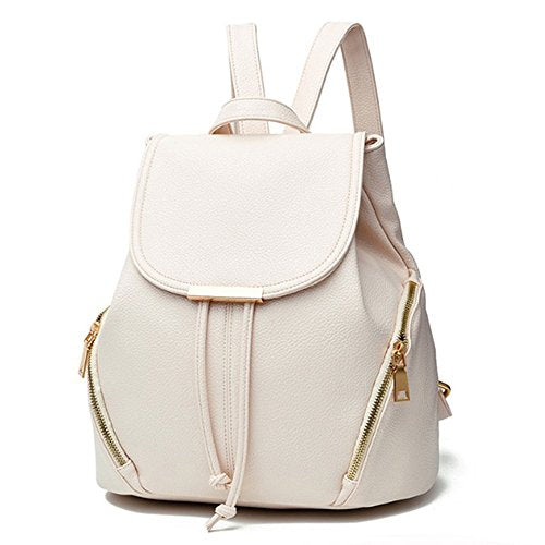 Aiseyi Casual Fashion School Leather Backpack Shoulder Bag Mini Backpack For Women Girls Purse
