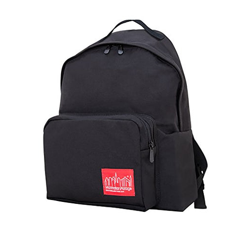 Manhattan Portage Big Apple Medium Backpack (One Size, Black)