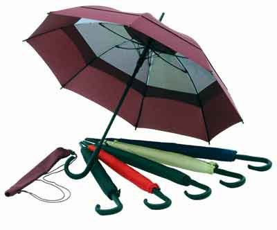 Windbrella Products Corp. 48 inch Fashion Umbrella - Hunter Green 44448HU