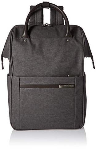 Briggs & Riley Kinzie Street, Framed Wide-Mouth Backpack, Grey
