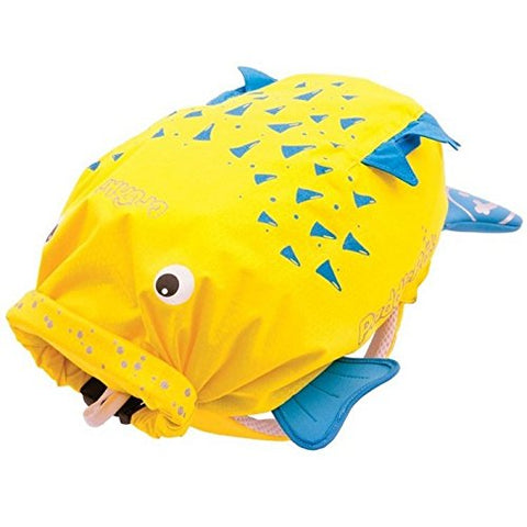 Trunki Spike Paddlepak Blow Fish Backpack - Yellow