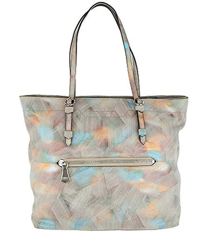 Aimee Kestenberg Leather On-the-Go Tote Handbag (Brushed Multi)