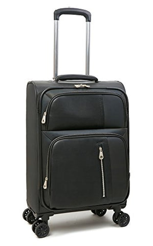 "Calvin Klein Lenox Hill 20"" Expandable Spinner, Black"