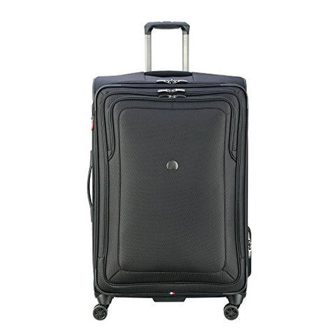"Delsey Luggage Cruise Lite Softside 29"" Exp. Spinner Suiter Trolley, BLACK"