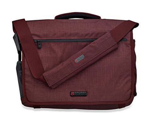 Ecbc Zeus Messenger Bag For 15-Inch Laptop, Berry