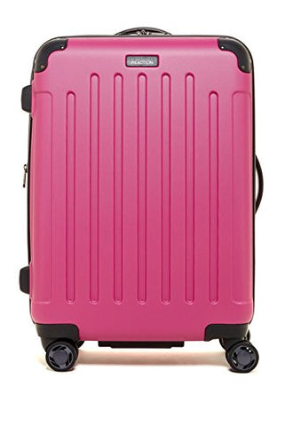 "Kenneth Cole Reaction Renegade 24"" Magenta Expandable 8-Wheeled Upright Pullman"
