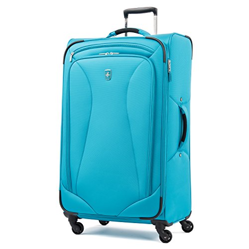 "Atlantic Ultra Lite Softsides 29"" Expandable Spinner, Turquoise Blue"