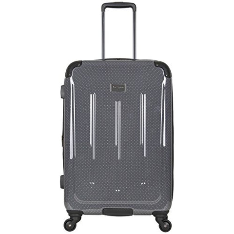 "Ben Sherman Cambridge 24"" Abs And Pc Film Expandable 4-Wheel Upright, Charcoal"