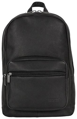 Reaction Kenneth Cole Ahead of the Pack Leather Computer Backpack