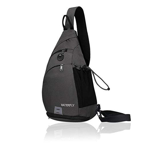 Waterfly Sling Backpack Sling Bag Small Crossbody Daypack Casual Backpack Chest Bag Rucksack for