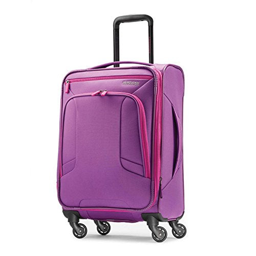 American Tourister 4 Kix Spinner 21, Purple/Pink
