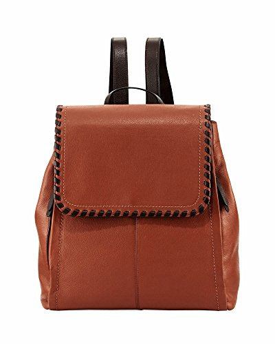 COLE HAAN ADDEY II LEATHER BACKPACK WOODBURY/CHOCOLATE