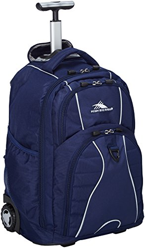 High Sierra Freewheel Wheeled Laptop Backpack, True Navy