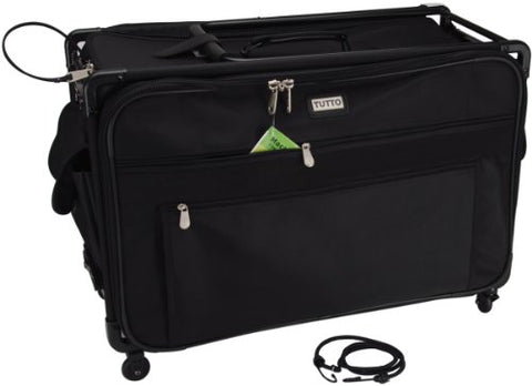 "Tutto Tutto Machine On Wheels Case- 1X -Black 23""L X 15""H X 14""D"