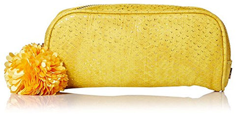 Deux Lux Women's Cotton Candy Brush Case, Yellow