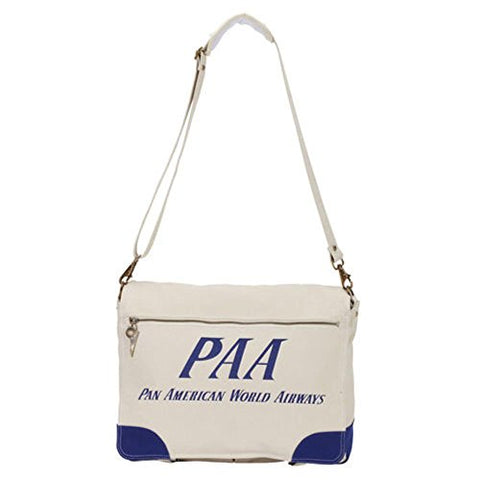 Pan Am Men'S Paa Messenger, Canvas, Large