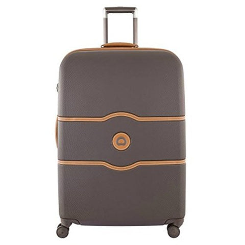 Delsey Chatelet Plus Hardside 28 inch Spinner Trolley Chocolate