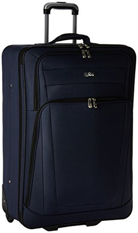 Skyway Luggage Epic 28 Inch 2 Wheel Expandable Upright, Surf Blue, One Size