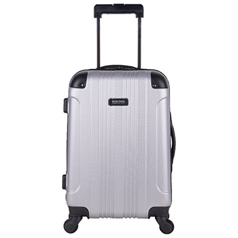 "Kenneth Cole Reaction Out Of Bounds 20"" Carry-On, Lt Silver"