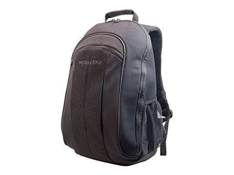 "Mobile Edge Eco-Friendly Canvas Backpack - 14.1"" - Black (Mecbpm1)"