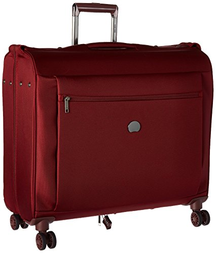 DELSEY Paris Delsey Luggage Montmartre Spinner Garment Bag Suit or Dress  Bordeaux Red