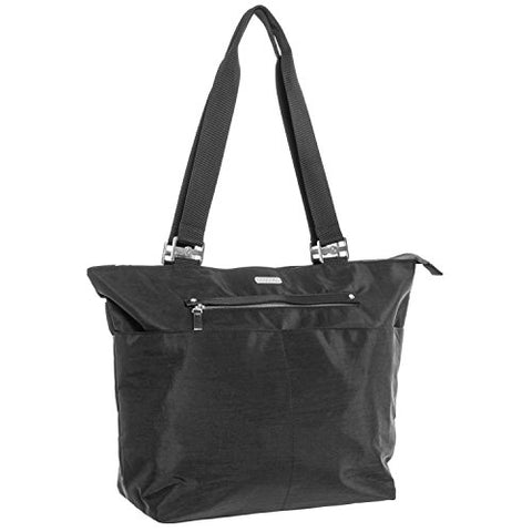 Baggallini All Around Tote, Black With Sand Lining